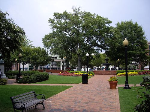 Marietta Square in Downtown Marietta, Georgia
