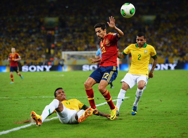 2013 Confederations Cup final - Brazil v Spain