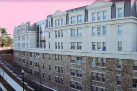 A residence hall at Marymount University