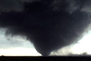A devastating wedge tornado in Manitoba, Canada