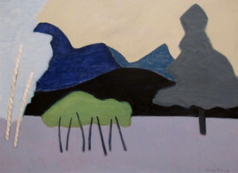 milton avery clear cut landscape