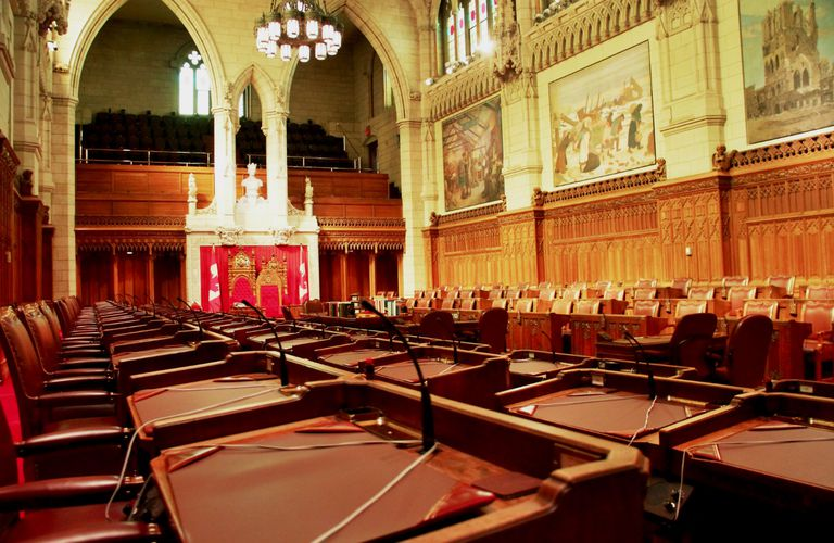 Canadian Senate Chamber