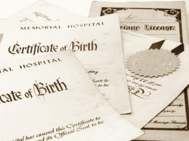 Learn how to find and access digitized copies of vital records -- birth, marriage and death certificates -- for each US state online.