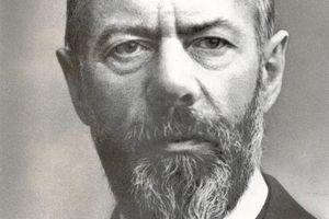 Max Weber, German Political Economist and Social Scientist
