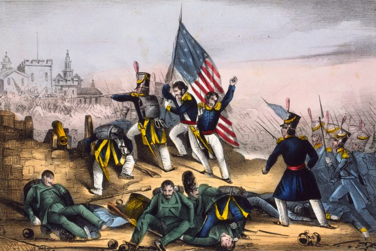 Attack on Chapultepec, Sept. 13th 1847