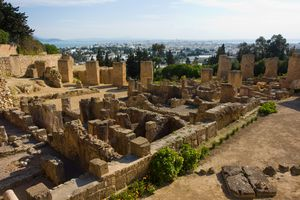 Ancient ruins of Carthage.