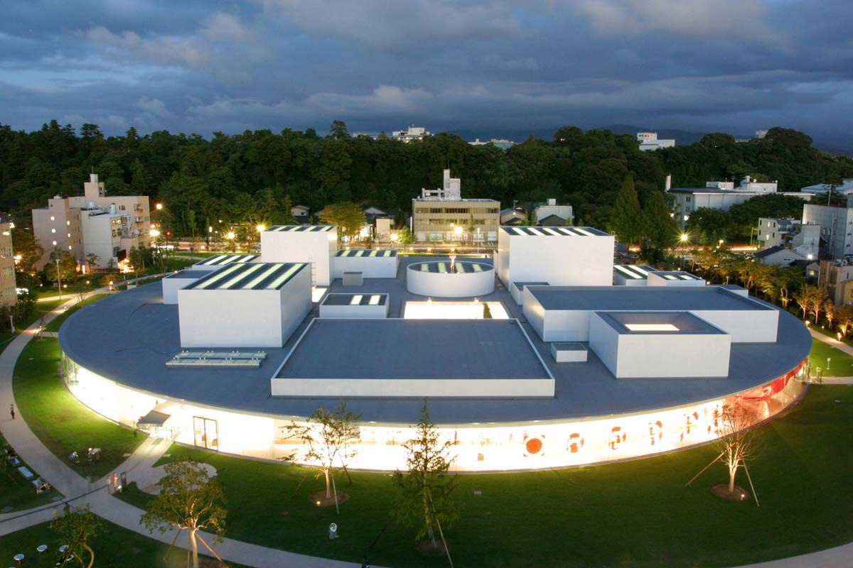 21st Century Museum of Contemporary Art in Kanazawa, Japan.