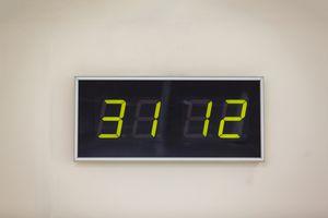 Digital display of numbers