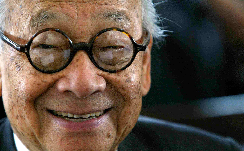 Architect I.M. Pei in 2004