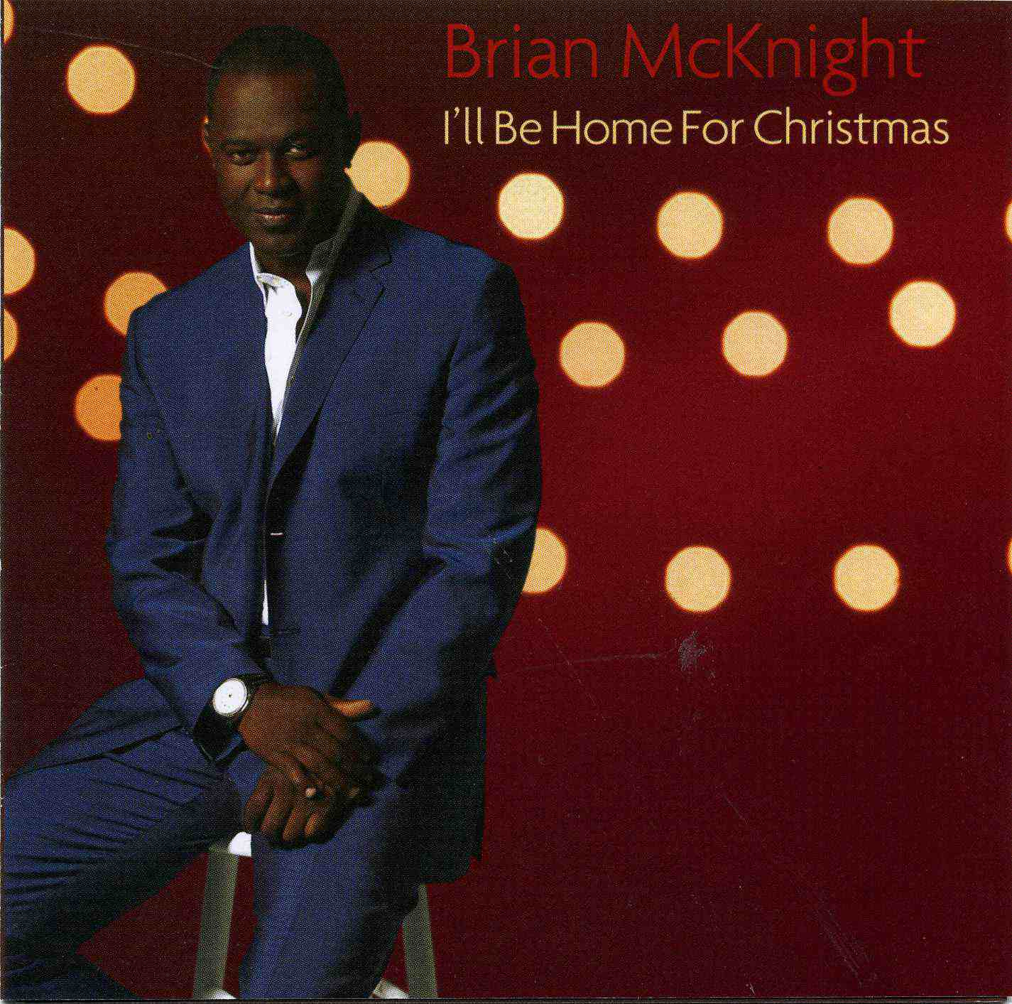 brian mcknight sitting on a stool christmas album cover - Best Rb Christmas Songs