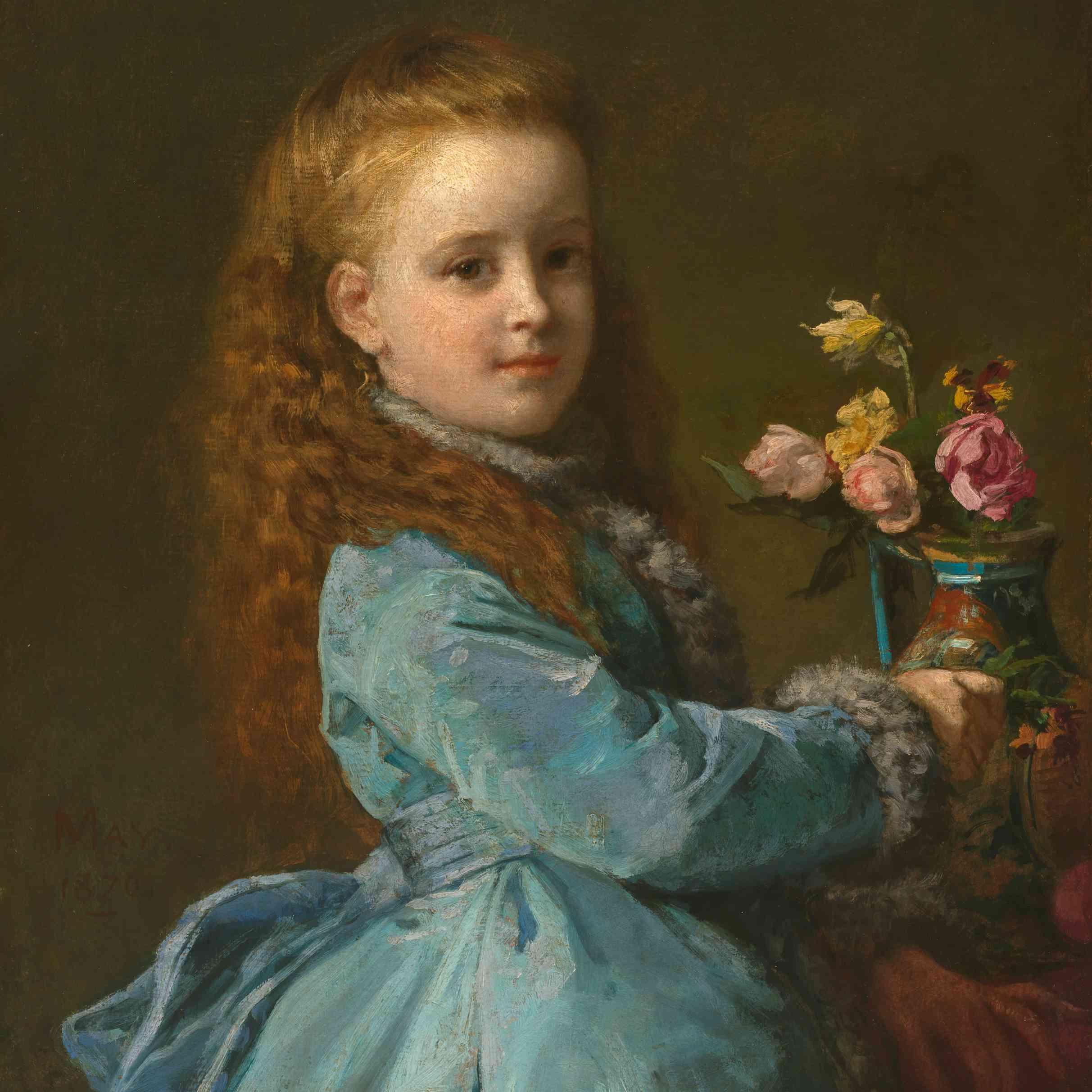 Portrait of Edith Wharton, 1870