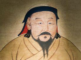 A painting of Kublai Khan