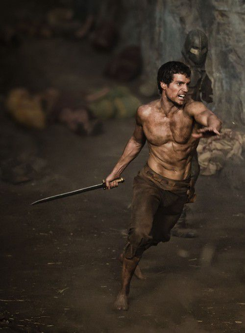 "Theseus as depicted in the movie ""The Immortals"""