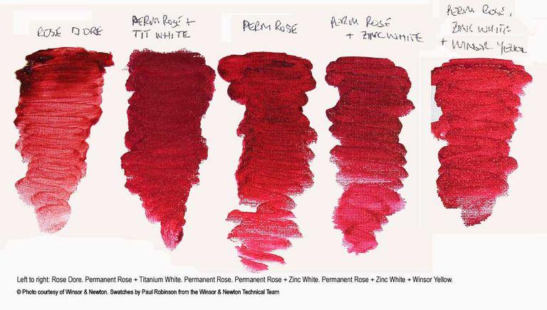 Rose Dore paint color swatch