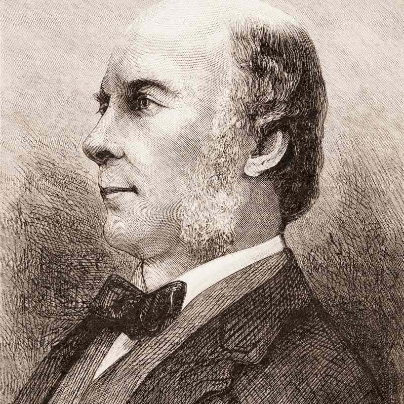 Portrait of Francis Galton