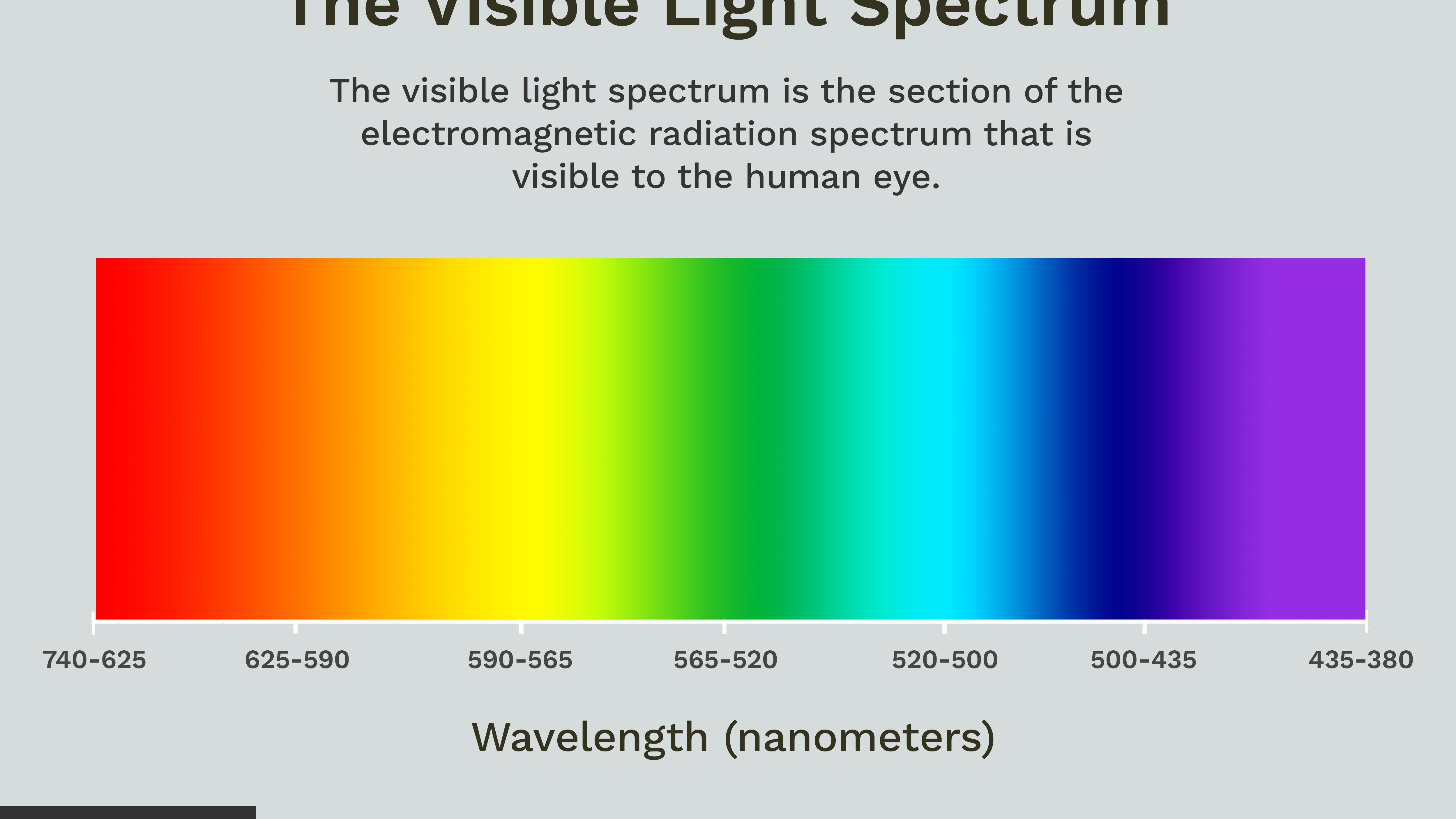 Visible Light Spectrum Overview and Chart