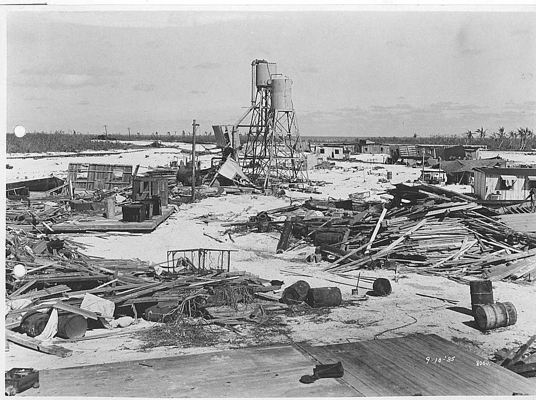 1935 Día del Trabajo huracán