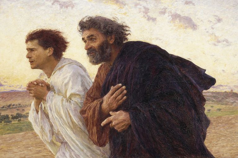 Peter and John of the Bible