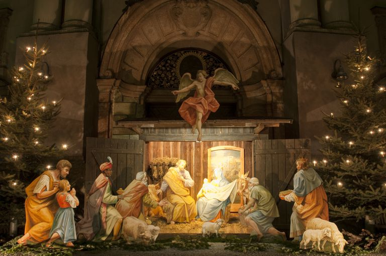 christmas nativity scene - When Was The First Christmas