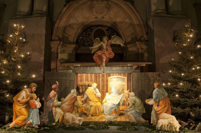 christmas nativity scene - When Was Christmas Created