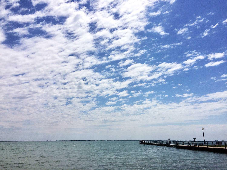 Cloudscape Over Lake St. Clair, Michigan