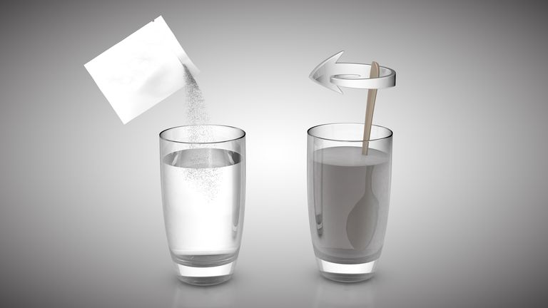Dissolving sugar in water is a physical change because no chemical reaction occurs.
