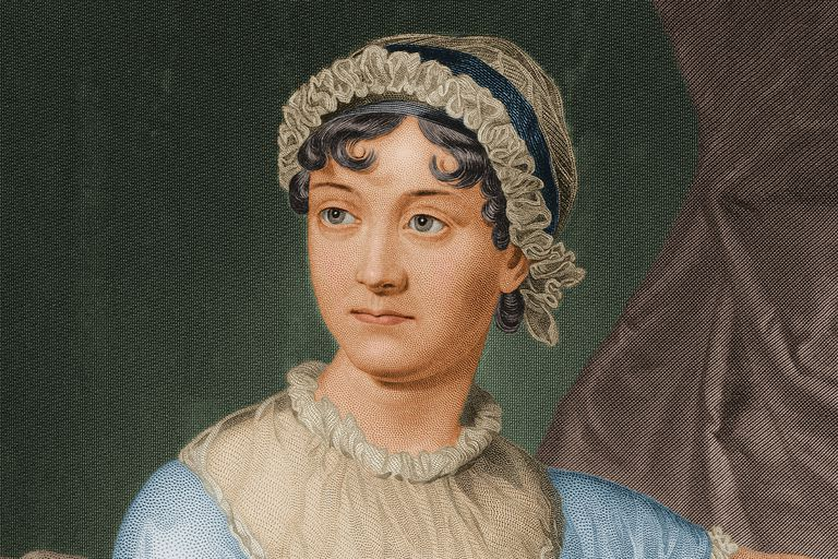 Jane Austen portrait painting