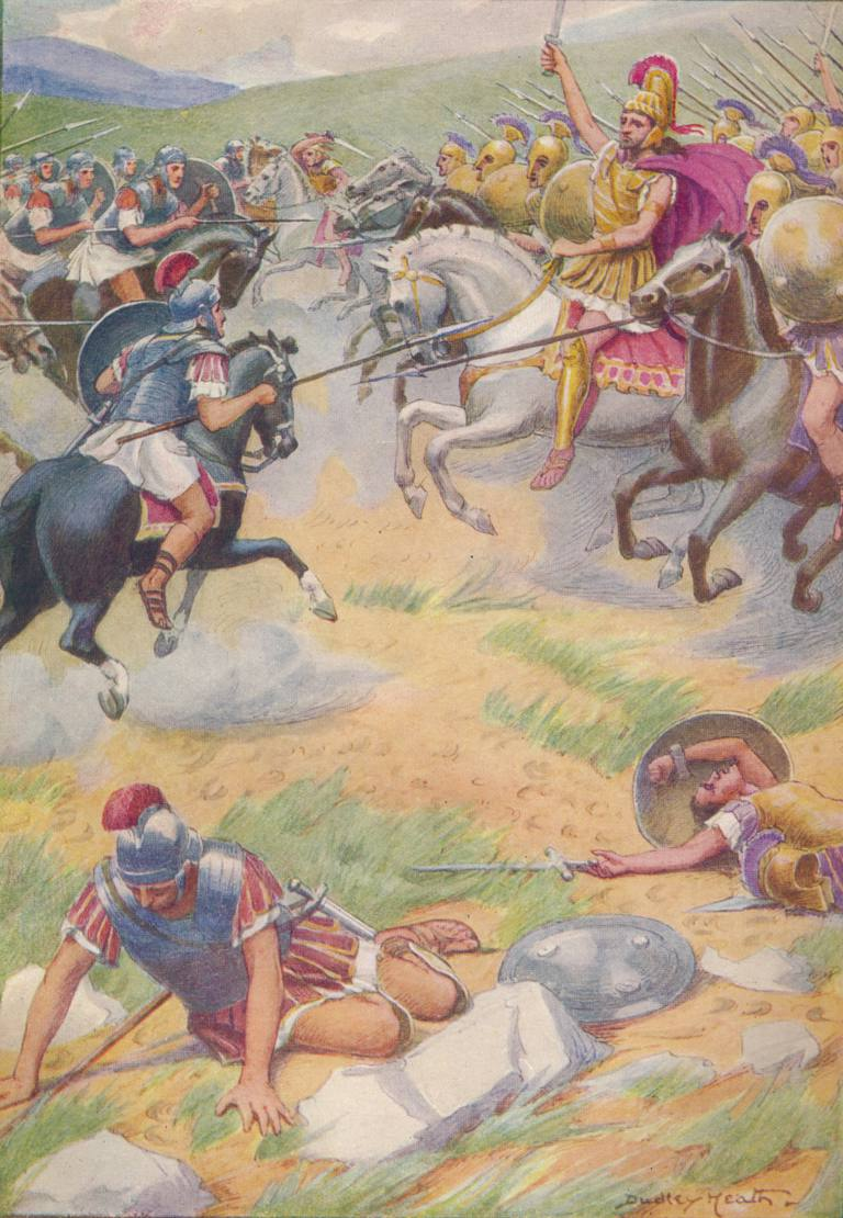 The armour of Pyrrhus was richer and more beautiful than that of his soldiers', c1912 (1912)