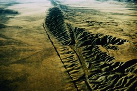 The San Andreas Fault, California