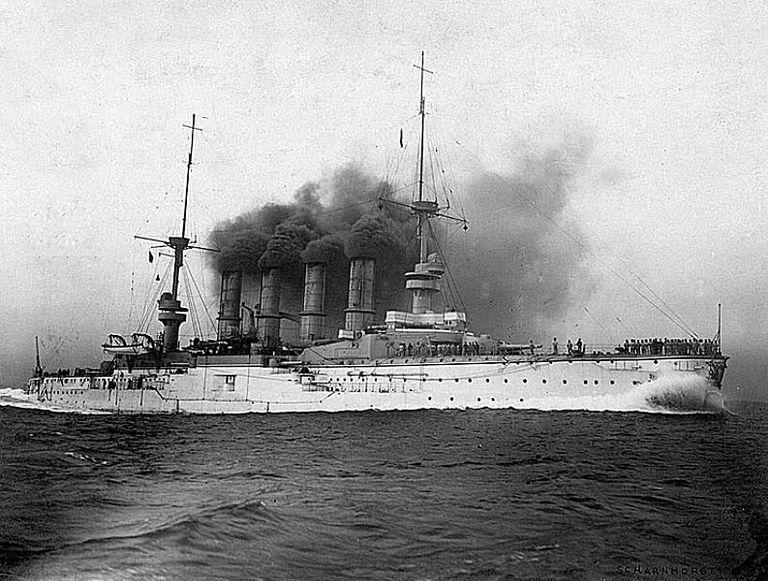 Armored Cruiser SMS Scharnhorst
