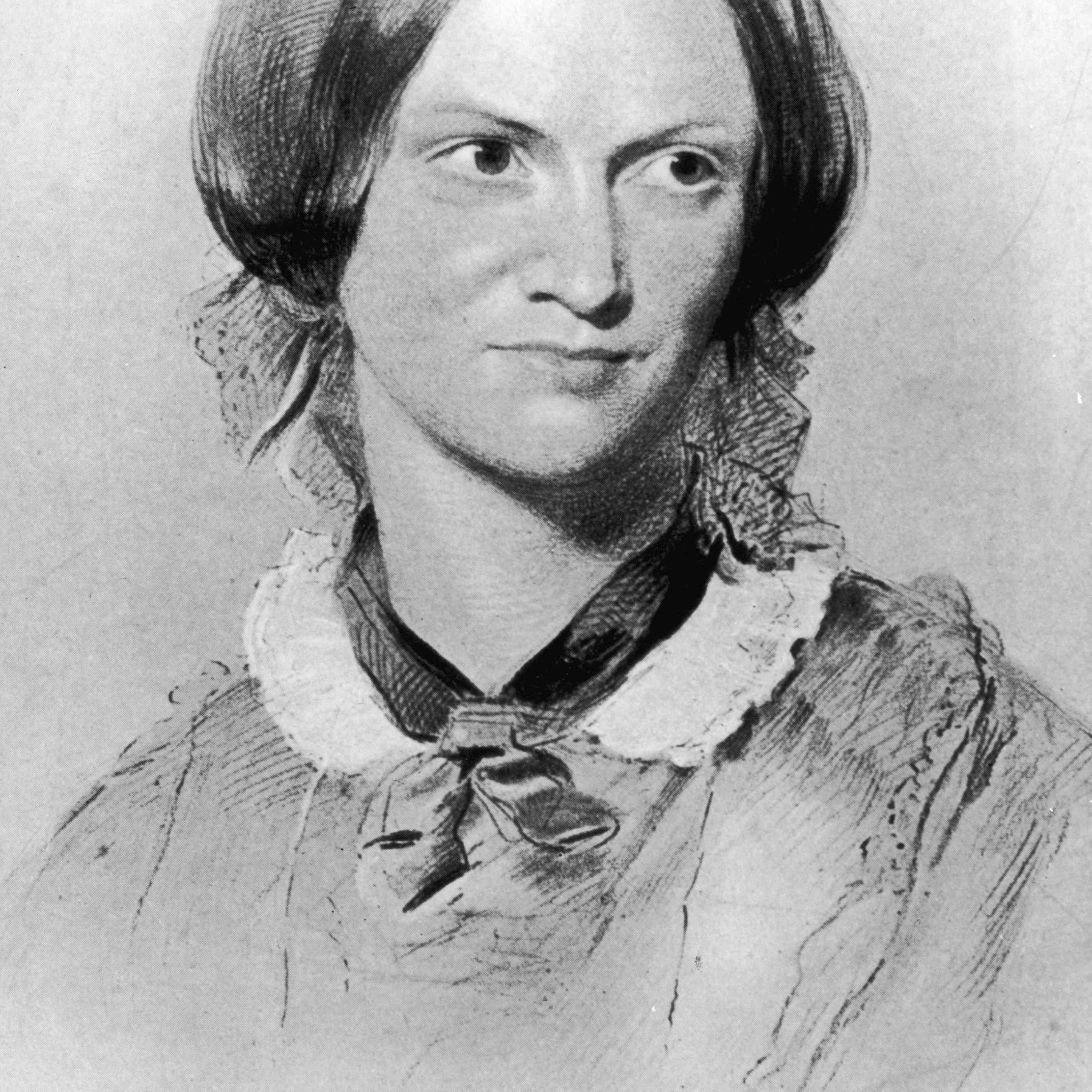 Portrait of Charlotte Bronte