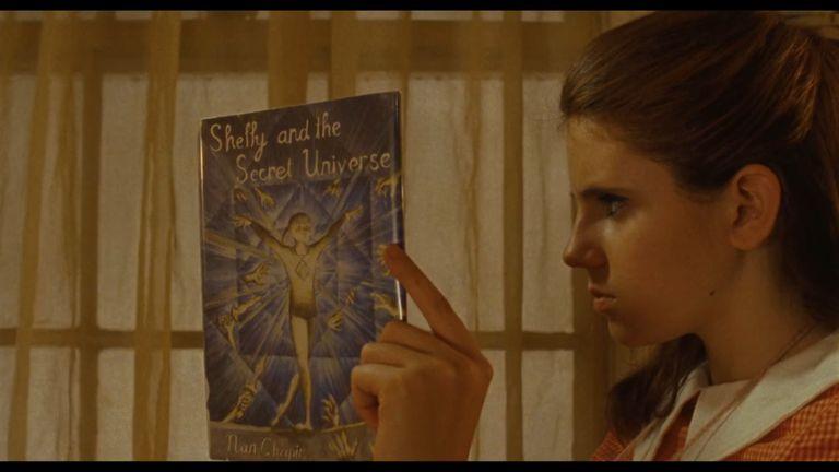 "Suzy reading ""Shelly and the Secret Universe"""
