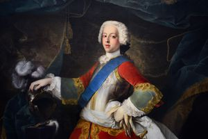 Prince Charles Edward Stuart, the Young Pretender.