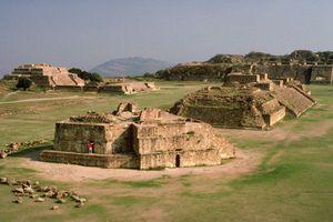 Zapotec Ruins of Monte Alban, Oaxaca, Mexico
