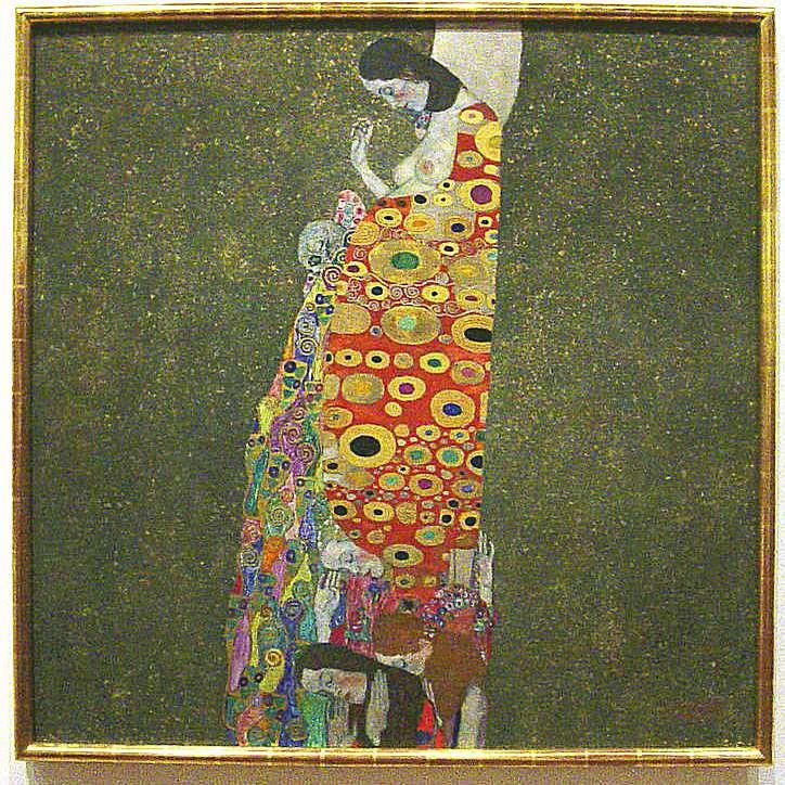 """Hope II"" - Gustav Klimt"