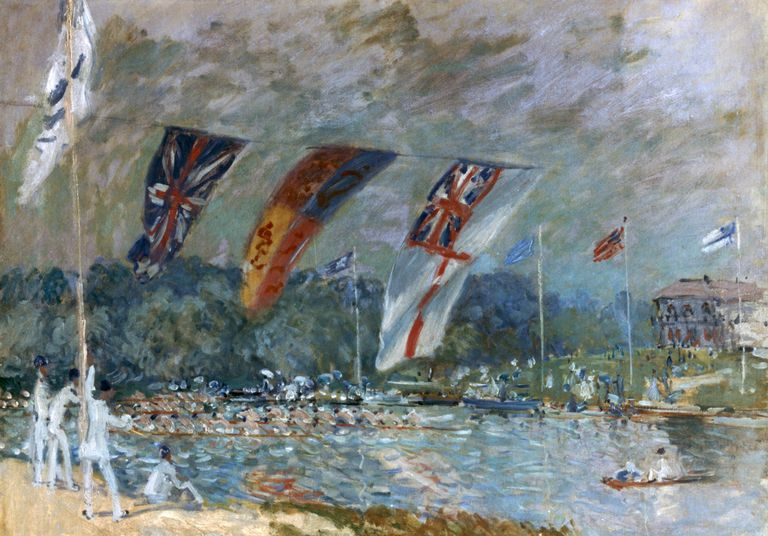 albert sisley regatta at molesey