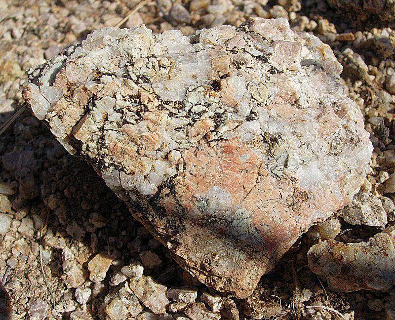 Quartz-poor granite