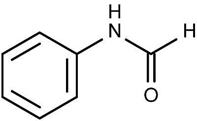 This is the chemical structure of formanilide.