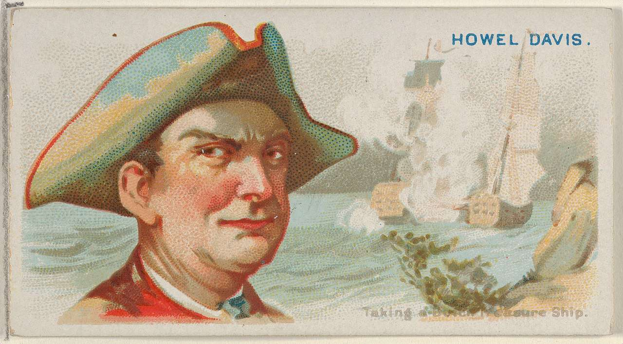 Howell Davis, Taking a Dutch Treasure Ship