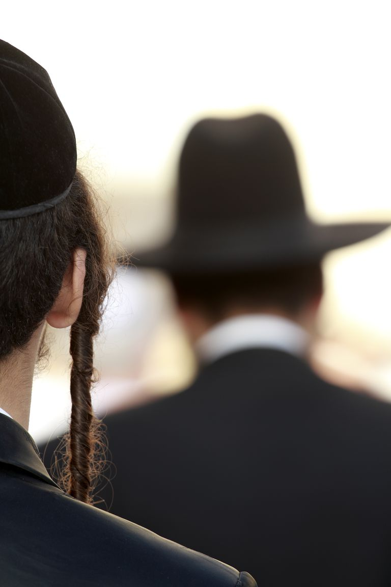 Orthodox jew detail