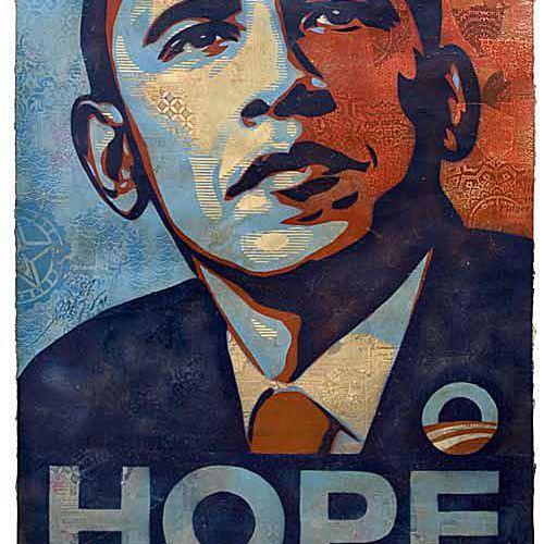 Barack Obama - Shepard Fairey