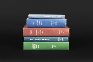 stack of Oscar Wilde books