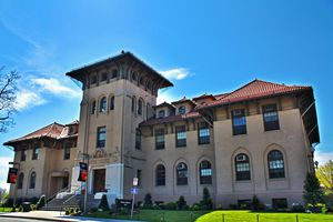 Queens College, CUNY. Thomas Jefferson Hall