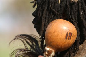 Zulu witch doctor