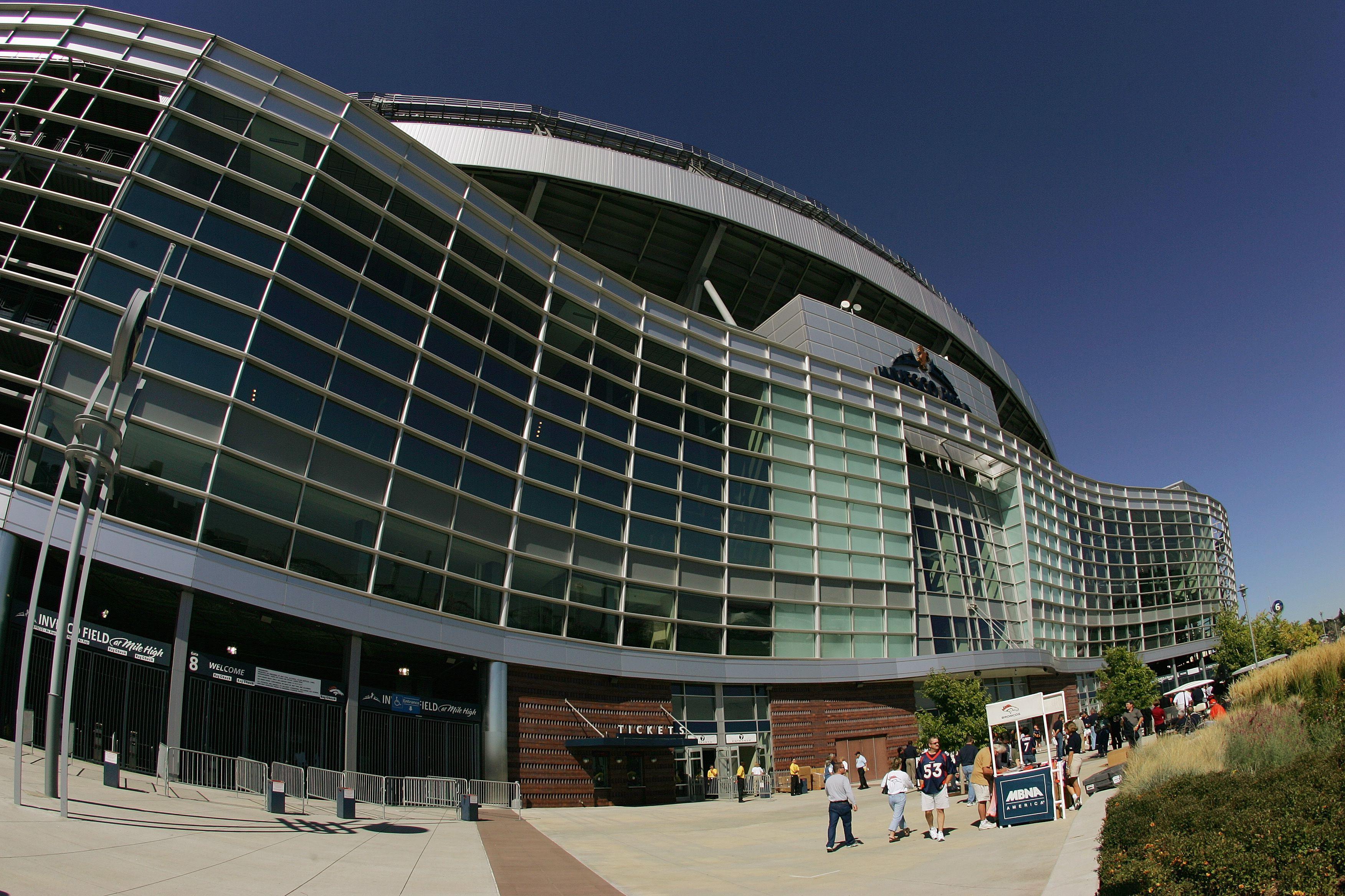 Denver Broncos' Stadium, INVESCO Field at Mile High, in Denver, Colorado