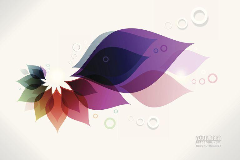 Contemporary artwork background