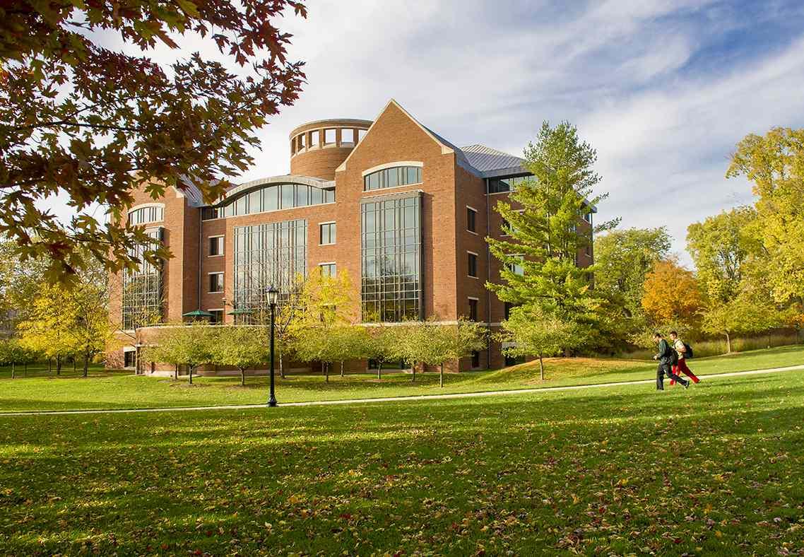 Ames Library at Illinois Wesleyan University