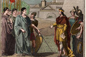 Numa Pompilius, second king of Rome