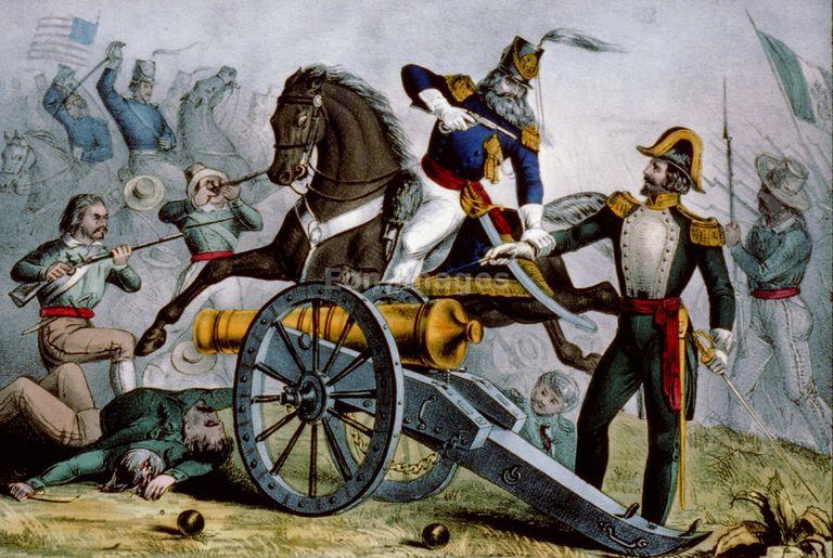 Fighting at Resaca de la Palma