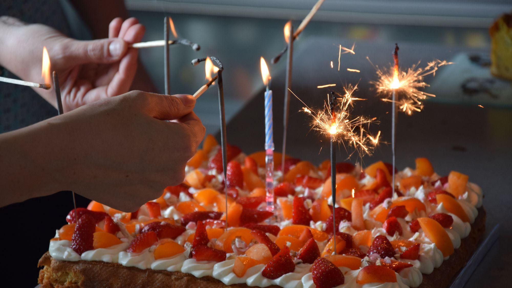 Bon Anniversaire Saying Happy Birthday In French